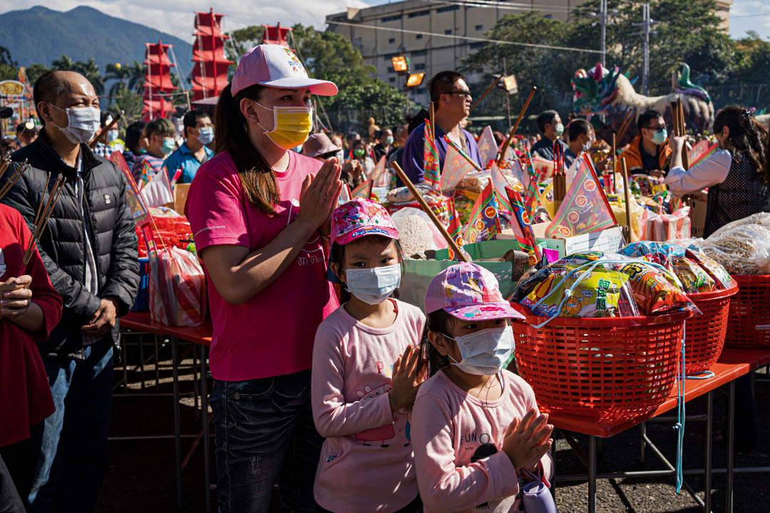 清醮期間,多數埔里人、不分男女老少皆會茹素,街上幾乎買不到葷食。
