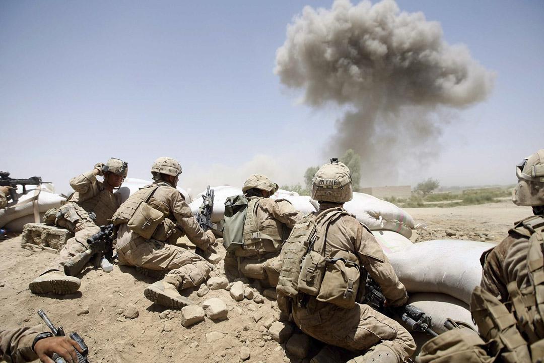 2009年7月3日,美國海軍陸戰隊遠征阿富汗。