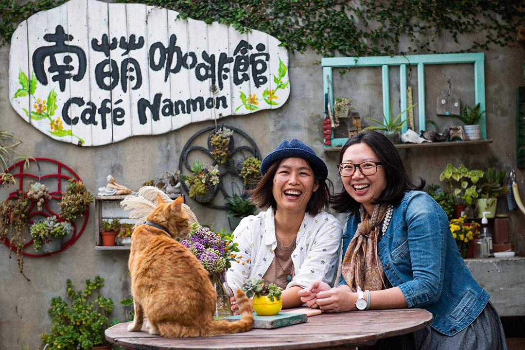南萌咖啡館老闆董逸馨。