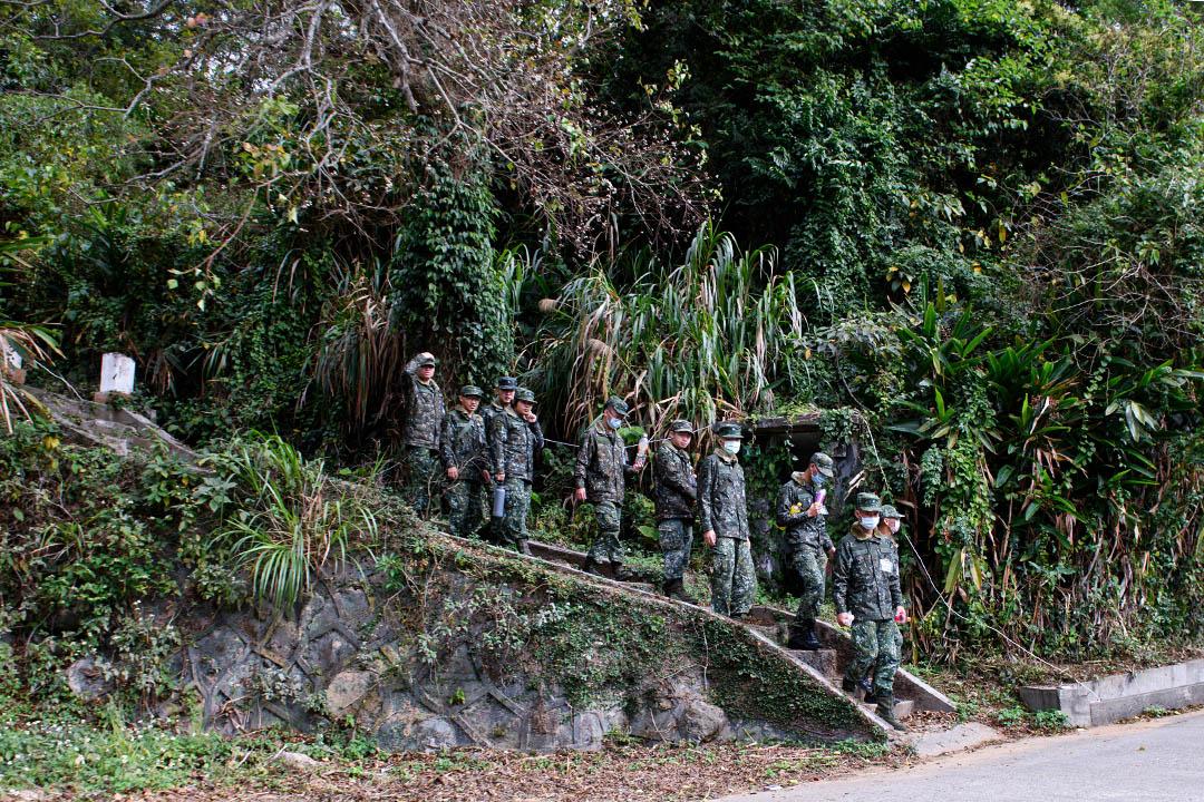 南竿軍事營地。