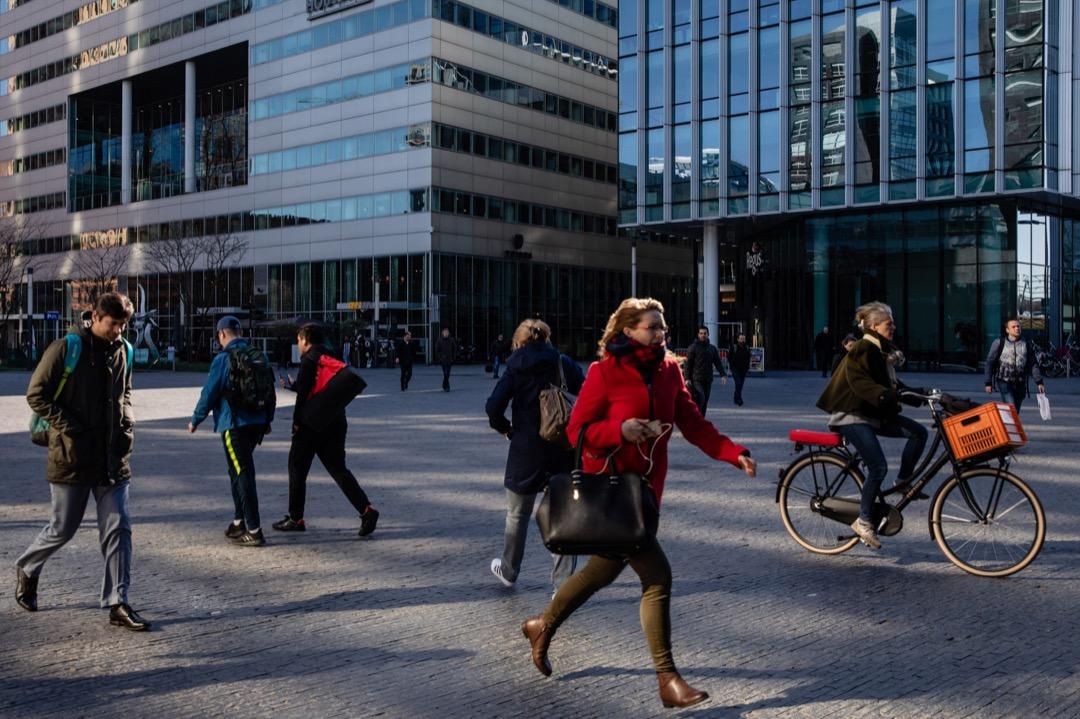 阿姆斯特丹的金融區。