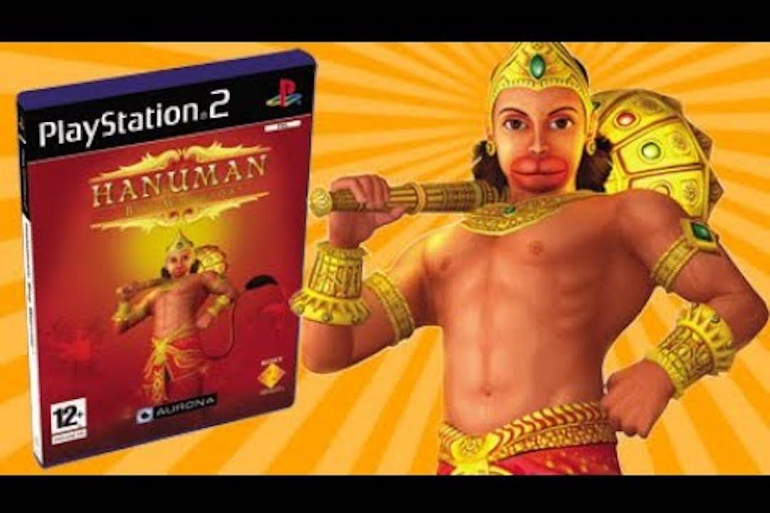 PS2 遊戲 《哈奴曼》