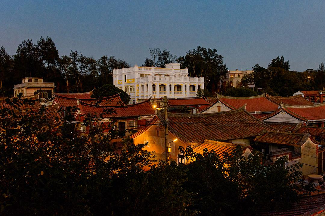 金門的閩式古厝。
