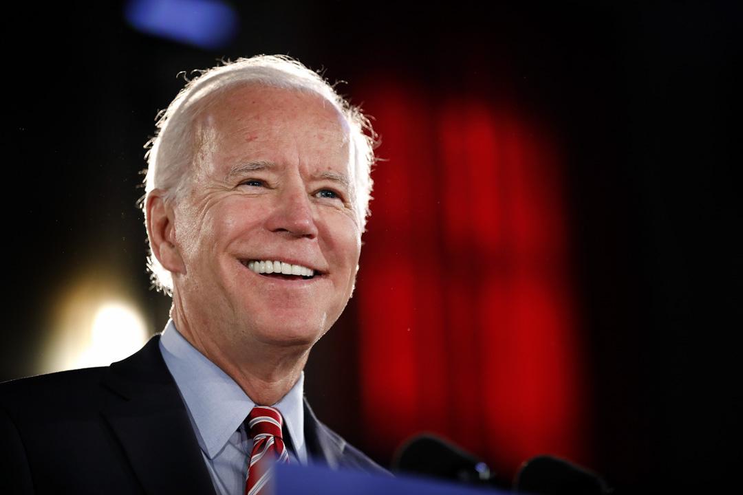 2019年10月23日,拜登在賓夕法尼亞州一個競選活動公佈其制定定經濟政策。 攝:Rick Loomis/Getty Images