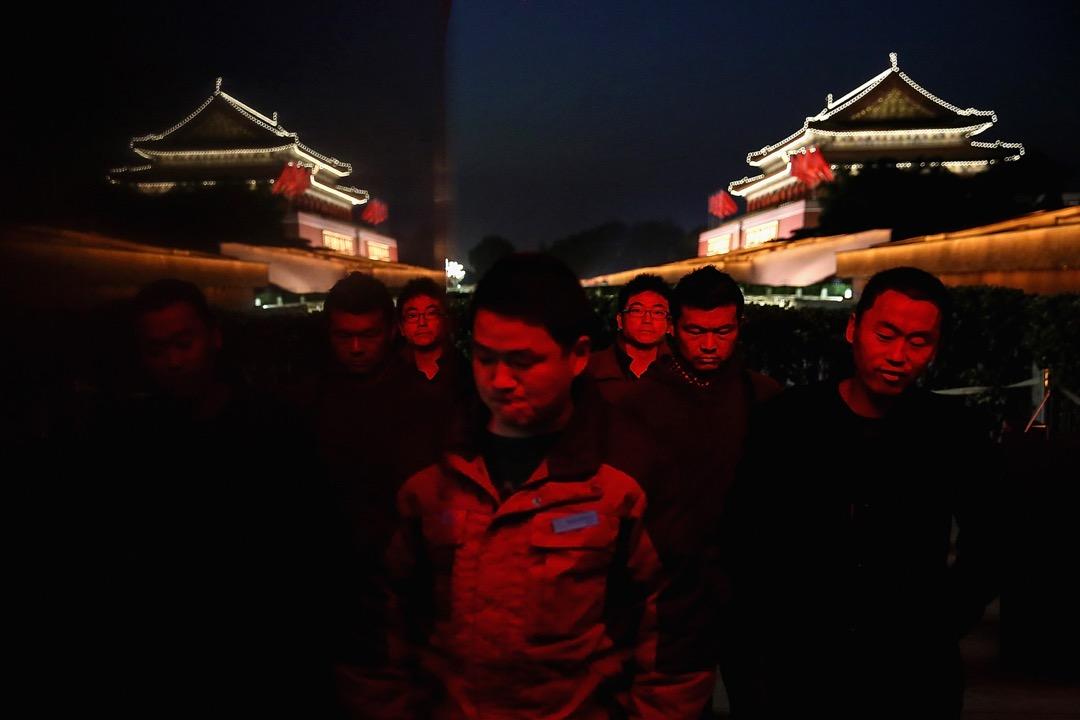 北京,天安門廣場。