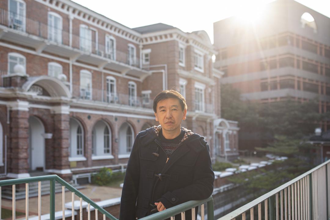 香港大學新聞及傳媒研究中心新聞系副教授鍛治本正人。