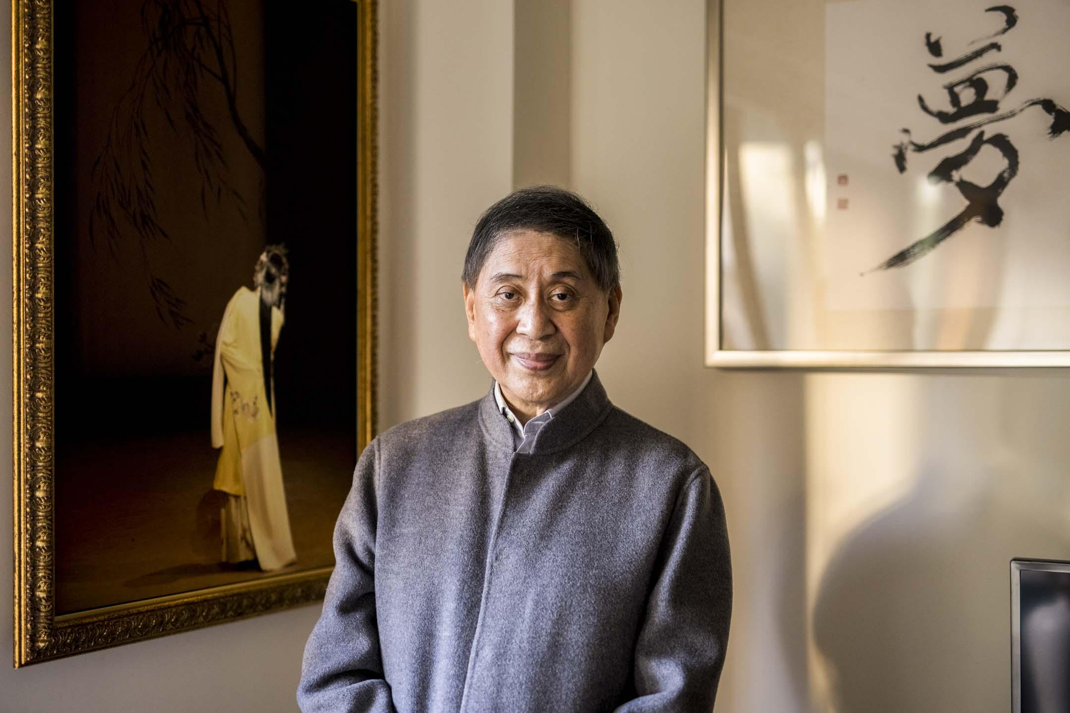 由白先勇當製作人的《牡丹亭》自2004年首場在台北國家戲劇院首演,至今已巡迴世界公演近四百場。與此同時,白先勇更四處演講、授課、受訪推廣崑曲之美,自許為「崑曲佈道家」。 攝:張國耀/端傳媒