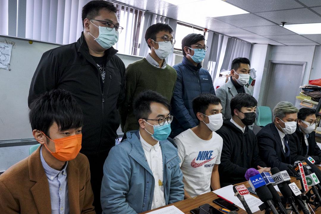 2020年12月31日,由多名民主派區議員牽頭的「公民議政平台」召開記者會表示,因平台不可能實現「團結不同勢力、超越黨派成見」的初衷,香港公民議政平台籌備工作立即中止,籌委會將即日解散。