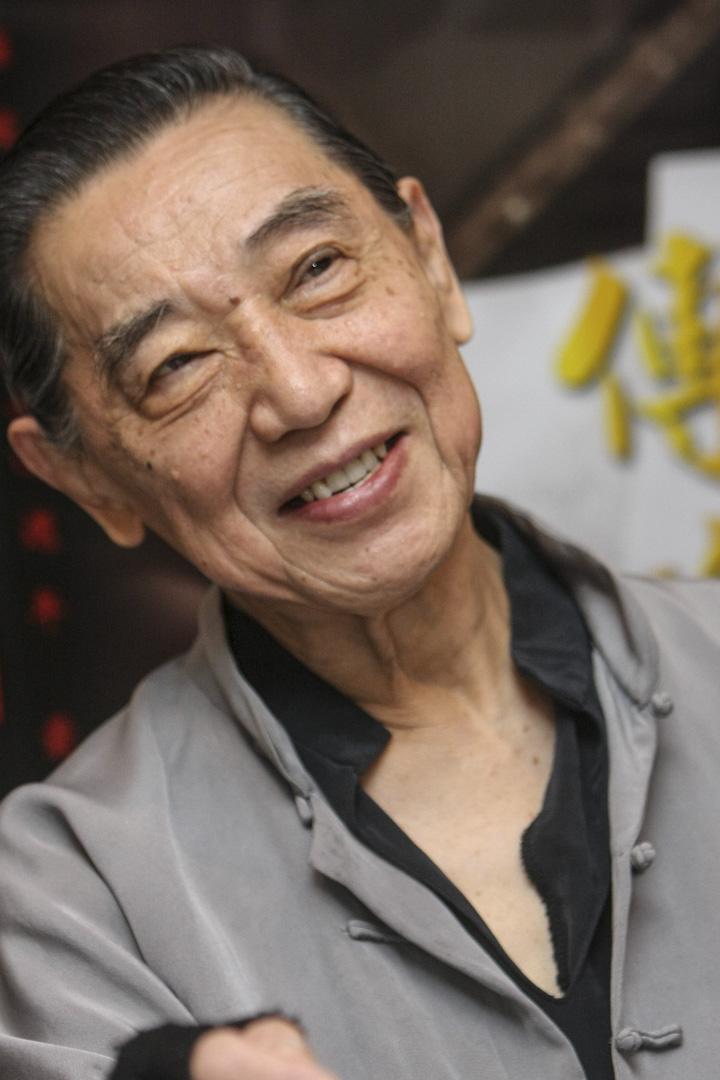 2009年10月2日,傅聰在台北舉行的鋼琴演奏會記者會上。