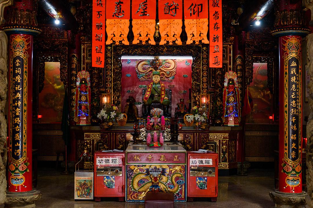 金門李光前將軍廟。