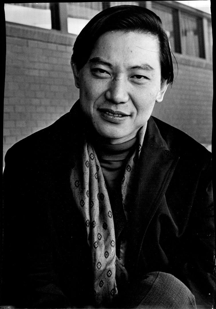 1970年10月15日,在澳大利亞進行巡迴演出期間的鋼琴家傅聰。