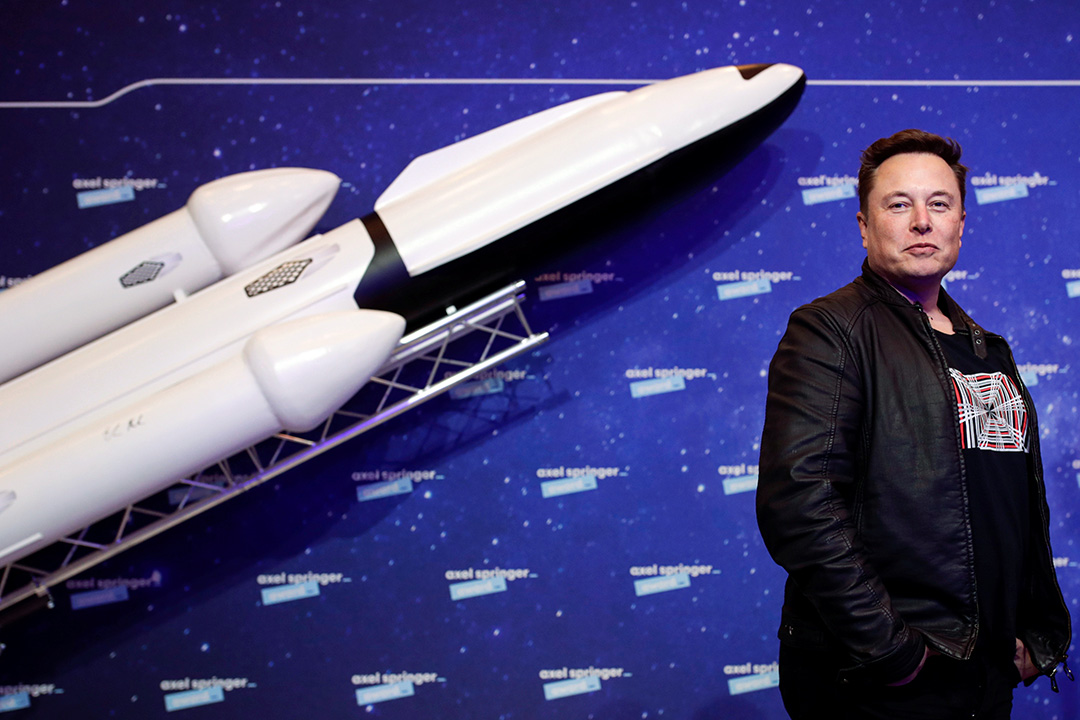 2020年12月1日德國柏林,馬斯克(Elon Musk)於德國柏林舉行的Axel Springer Award 2020。 攝:Hannibal Hanschke-Pool/Getty Images