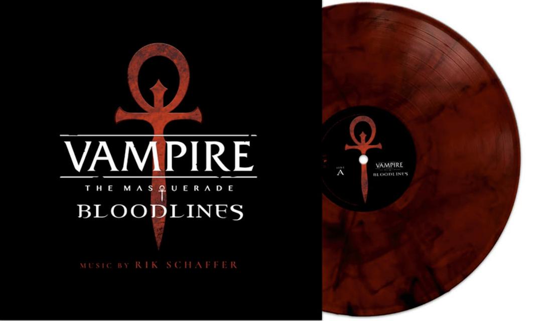 《吸血鬼:避世之血族》原聲唱片,由Rik Schaffer譜寫演奏
