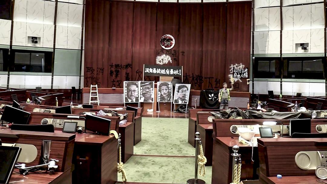 《佔領立法會》劇照。