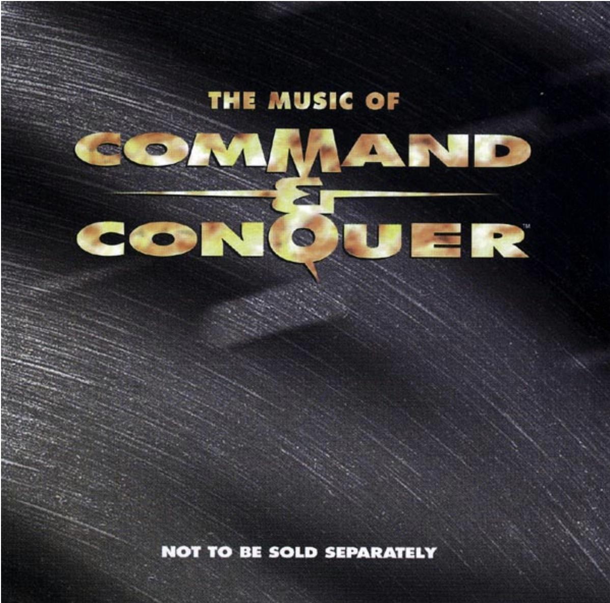 《命令與征服》原聲CD封面