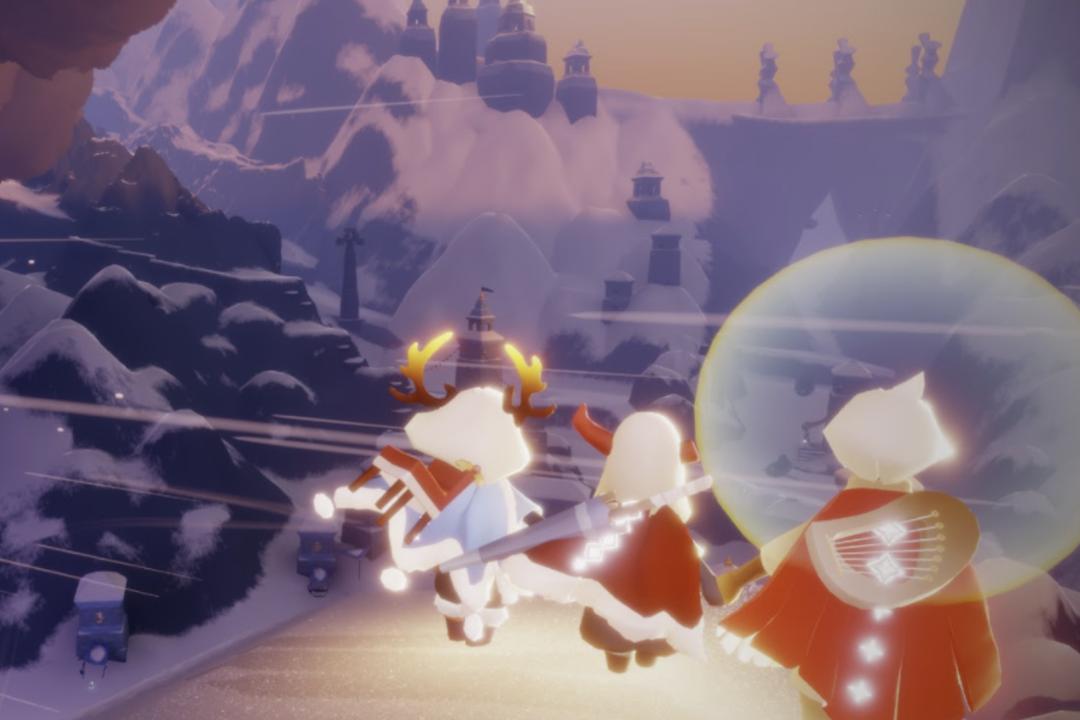 跑圖 (candle run):蠟燭是《光遇》中的虛擬貨幣,可用來換取皮膚或樂器,也可用以升級動作和玩家間的友誼。《光遇》的地圖中散佈著蠟燭光點,多數玩家藉由跑各個地圖收集蠟燭光點,來累積蠟燭數。