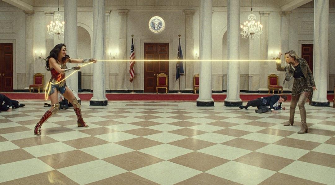 《神奇女俠1984》電影劇照。