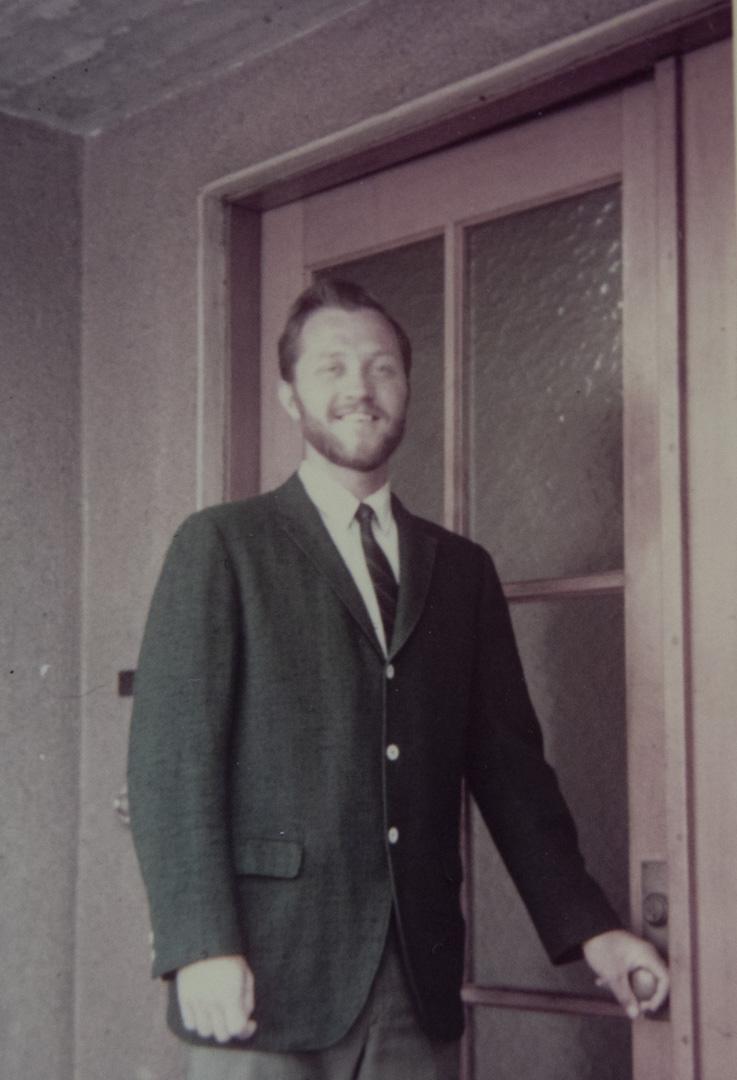 1969年的關尚義在日本。