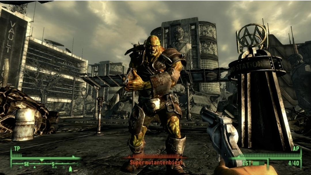 《輻射3》遊戲截圖