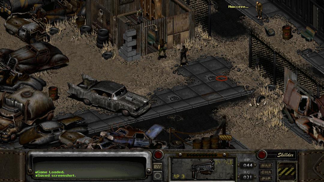 《輻射2》遊戲截圖