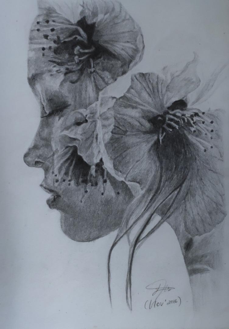 《女性與心靈》Woman and Mind,社會對女性強加審美秩序及觀念,忽略每位女性燦爛而獨特的內在美。