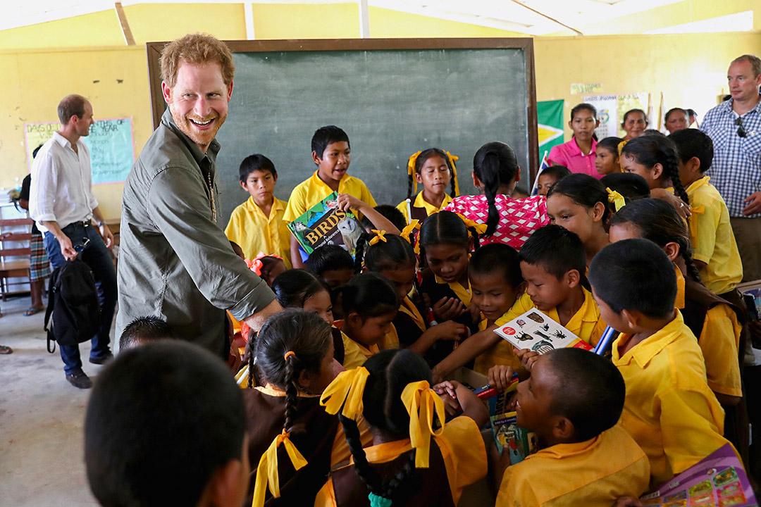 2016年2月3日,英國哈里王子訪問圭亞那。