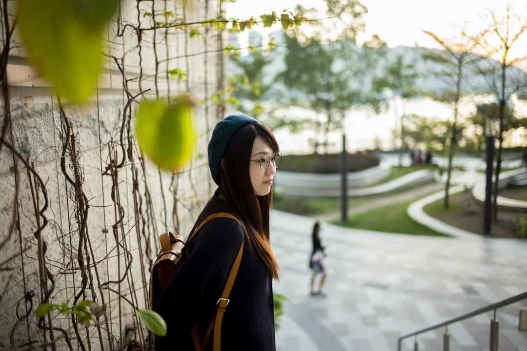 《幻愛》及《秋鯨擱淺》的作者蔣曉薇。 攝:林振東/端傳媒