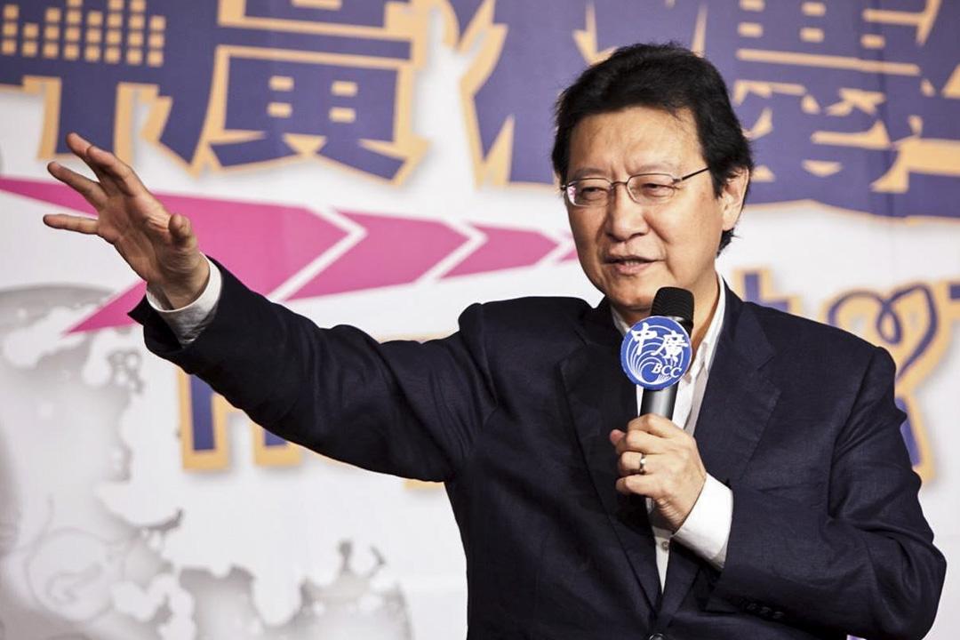 前立法委員、知名政論人趙少康宣布,將重返國民黨,並參選黨主席一職。 圖為2016年9月2日,趙少康於中國廣播公司的活動上。 圖:趙少康時間 Facebook