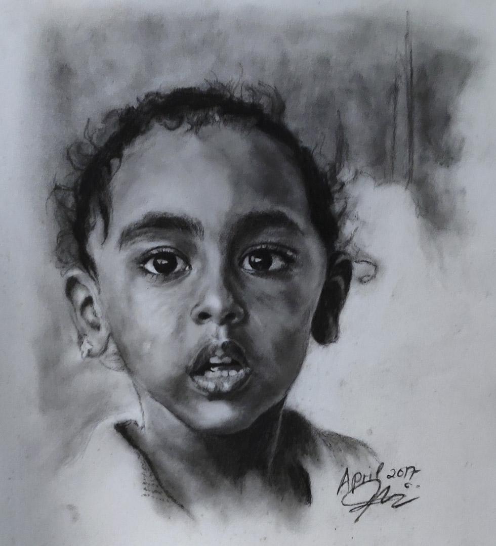 《希望》Hope,在每個孩子的眼睛中找到希望。