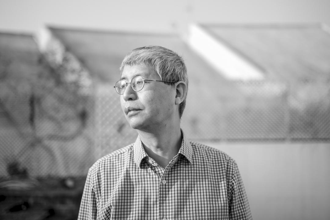 香港中文大學政治與行政學系副教授馬嶽。 攝:林振東/端傳媒