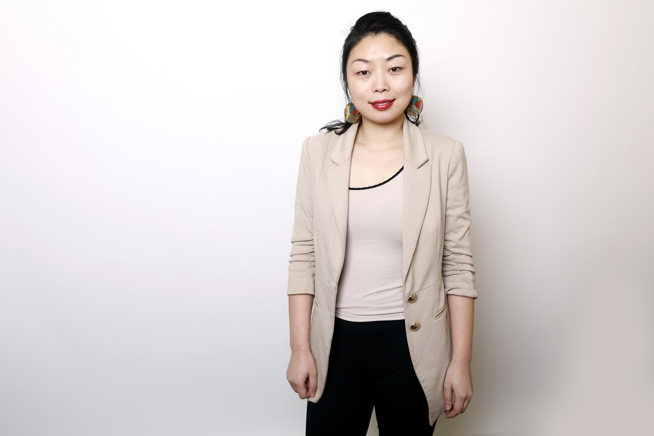王男栿1985年生於中國江西,2011年赴美求學,之後成為紀錄片導演。她曾拍攝《海南之後》、《獨生之國》等影片,新片《我和祖國共命運》不久前在聖丹斯電影節首映。 攝:Matt Sayles/Invision/AP/達志影像