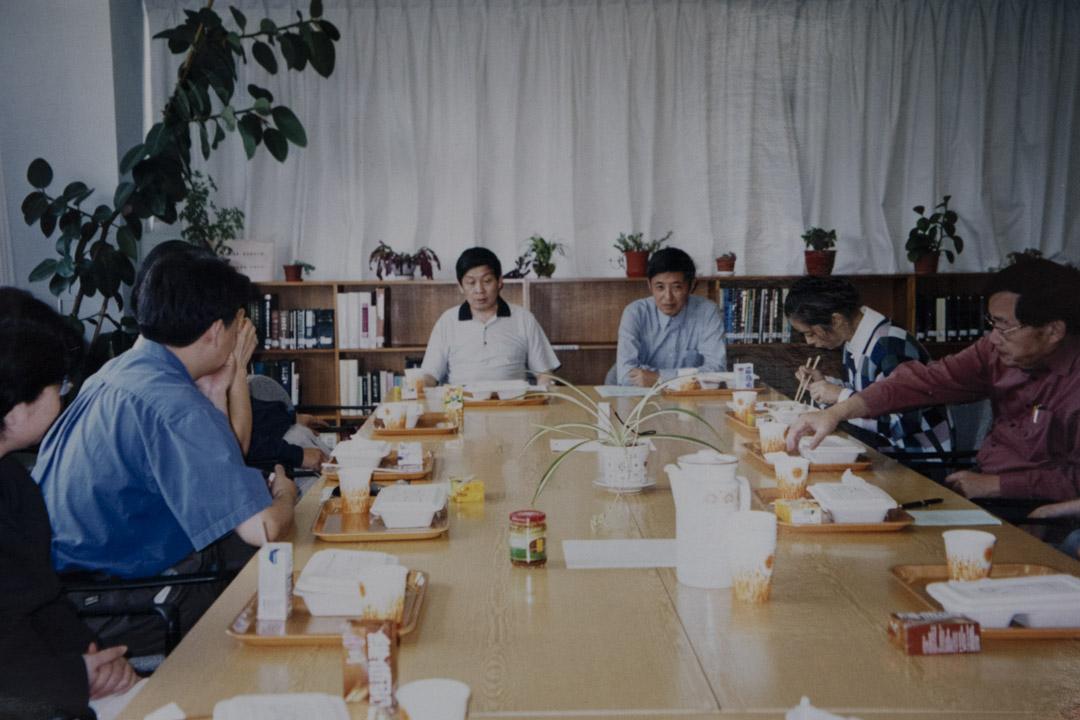 中心的午餐研討會。
