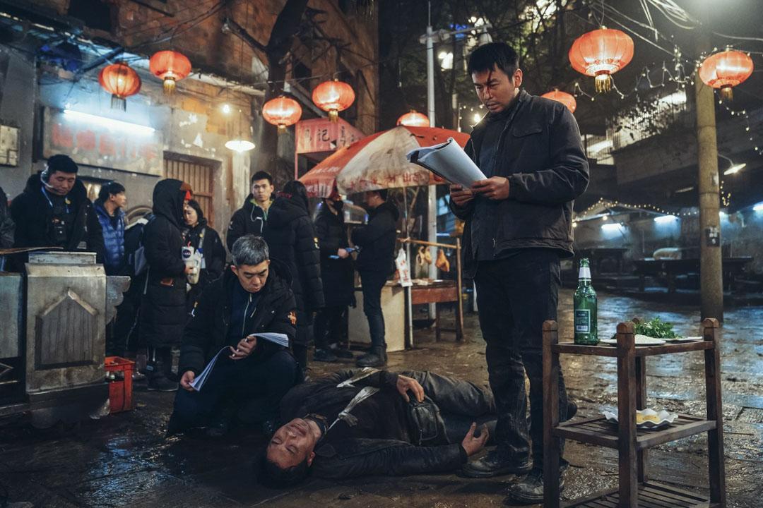 《刺殺小說家》電影劇照。