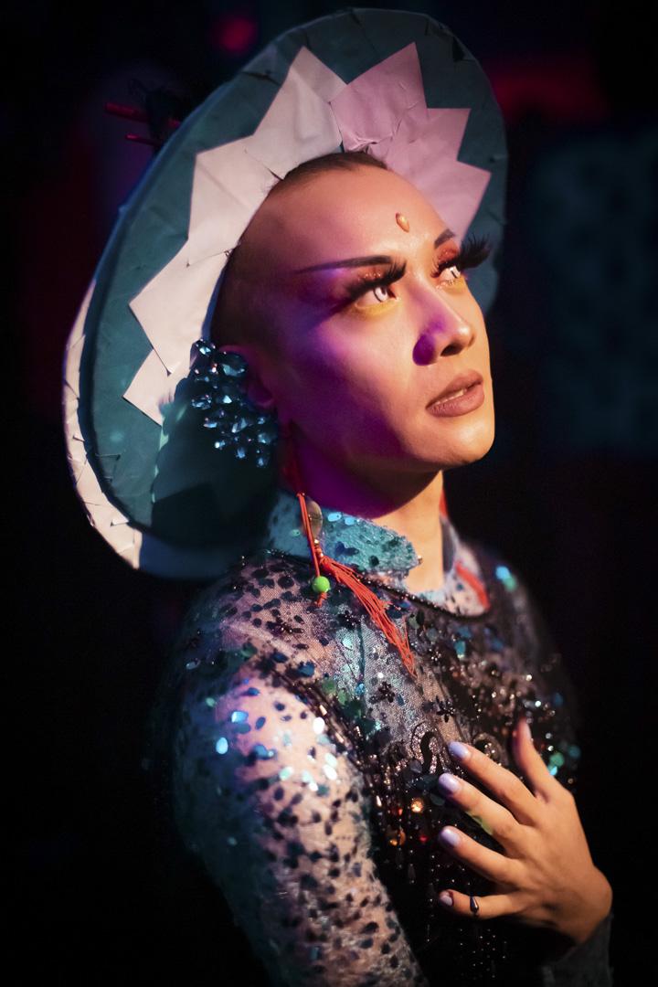 越南裔變裝皇后Yune Neptune。