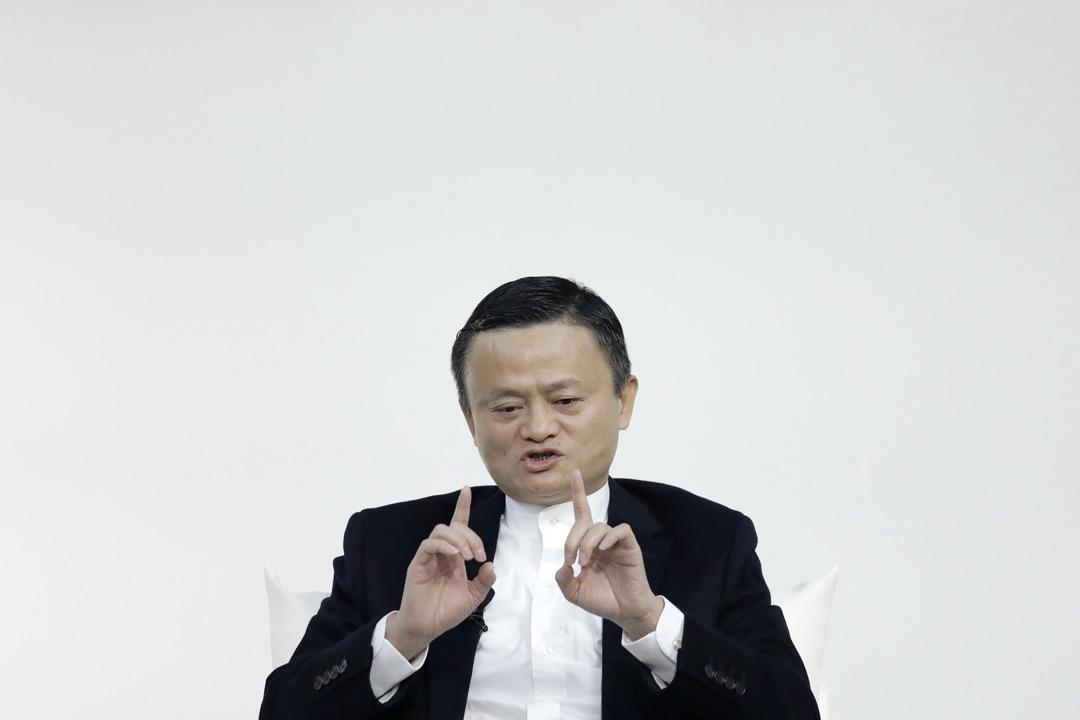 2019年12月,阿里巴巴創辦人馬雲在日本出席一個論壇。 攝:Kiyoshi Ota/Bloomberg via Getty Images