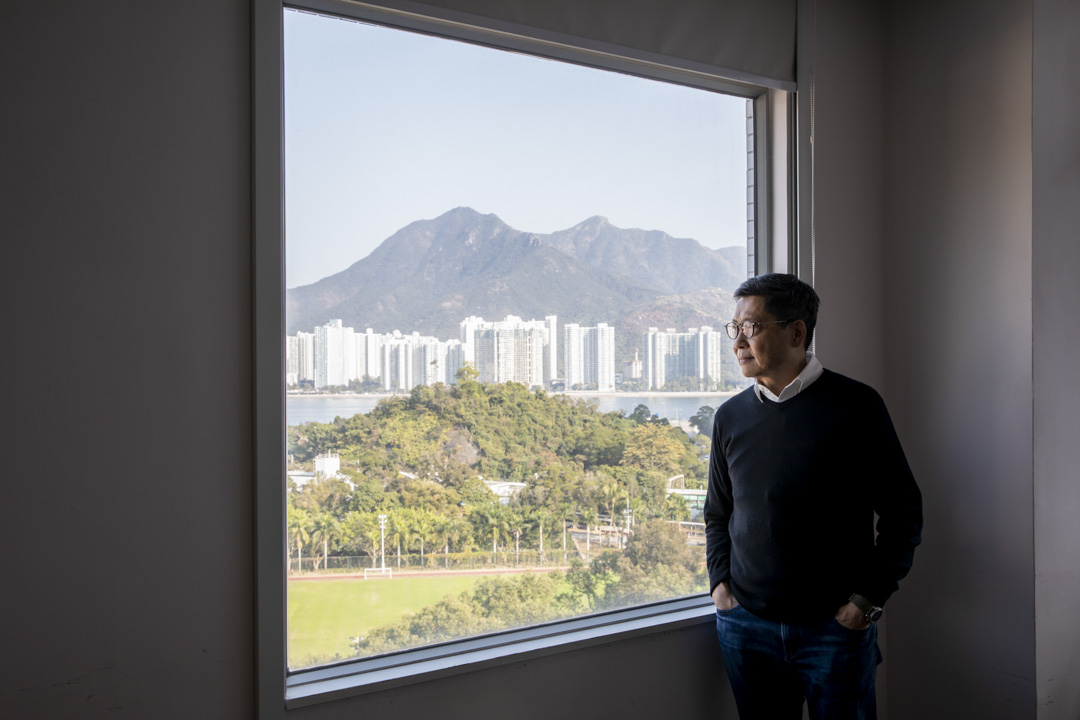 曾於2012年至2013年擔任中國研究中心主任的陳健民。
