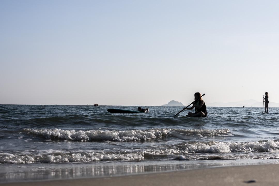 2021年,大嶼山,正在划艇的人。