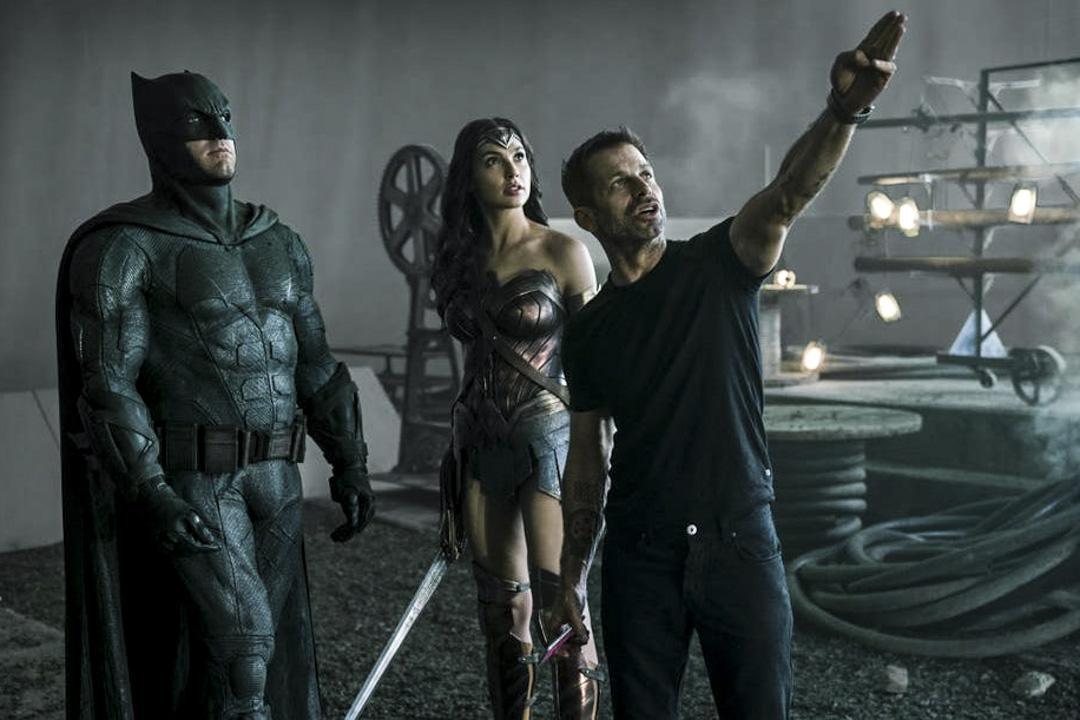 薩克薛達(Zack Snyder)在拍攝現場。