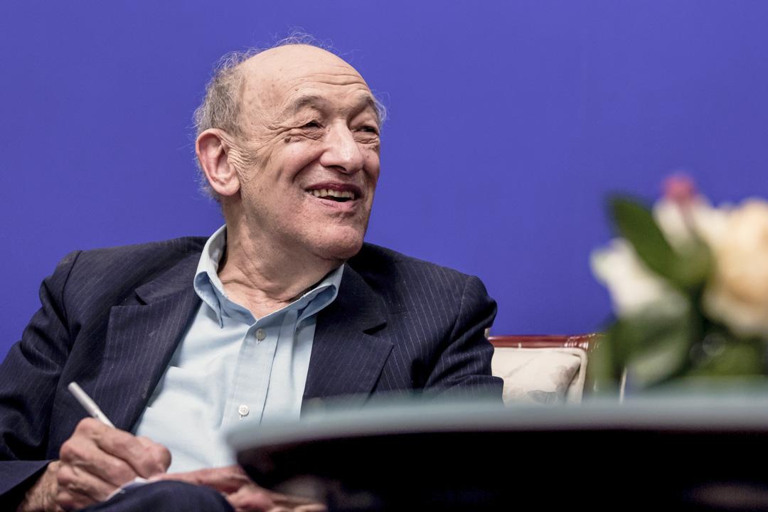 著名中國問題專家、美國哈佛大學社會科學院榮休教授傅高義(Ezra F. Vogel)。