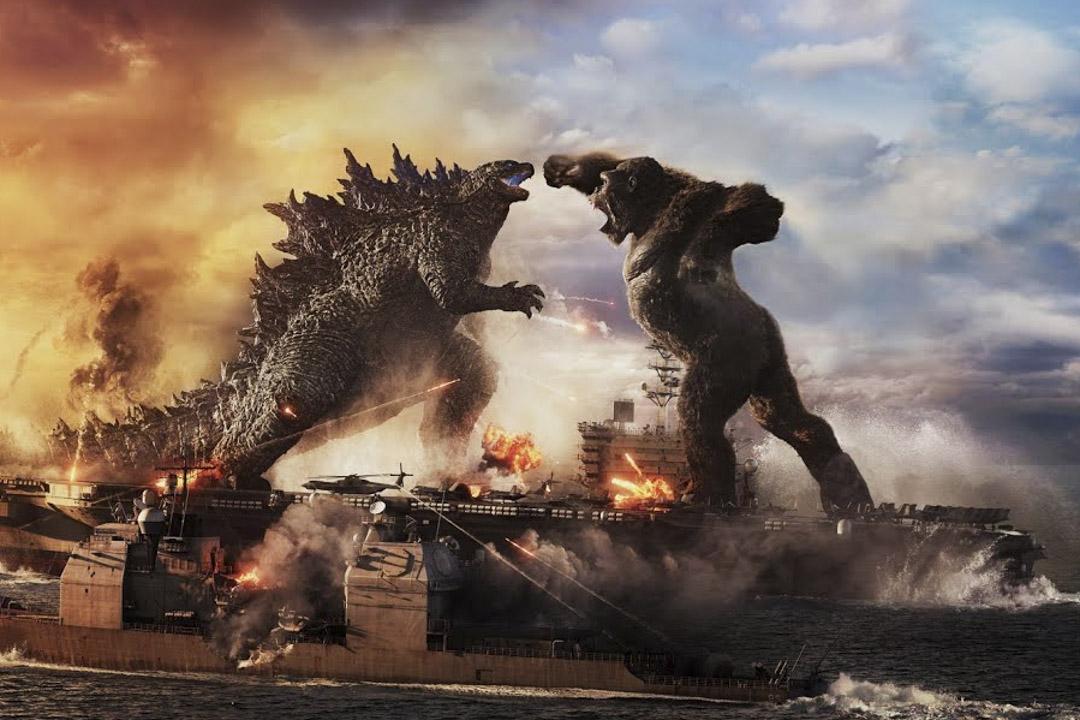 《哥吉拉大戰金剛》(Godzilla vs. Kong)劇照。