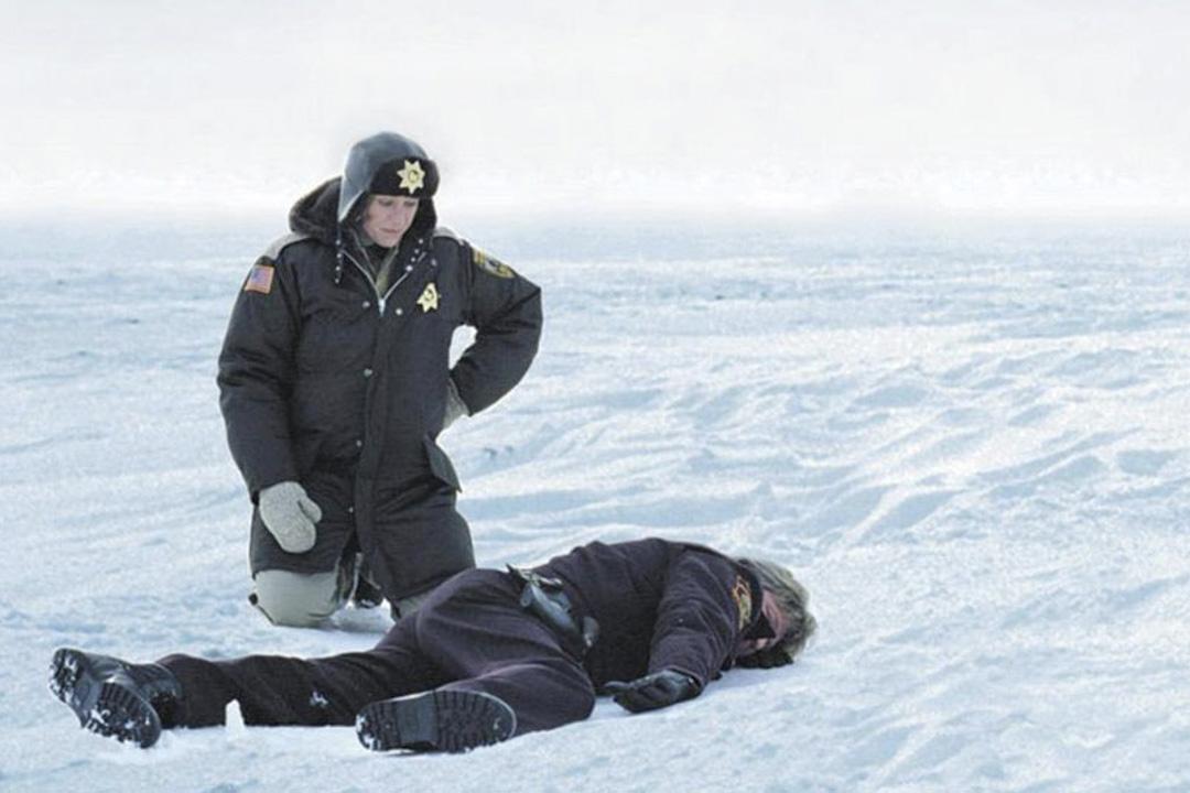 《雪花高離奇命案》(Fargo)劇照。