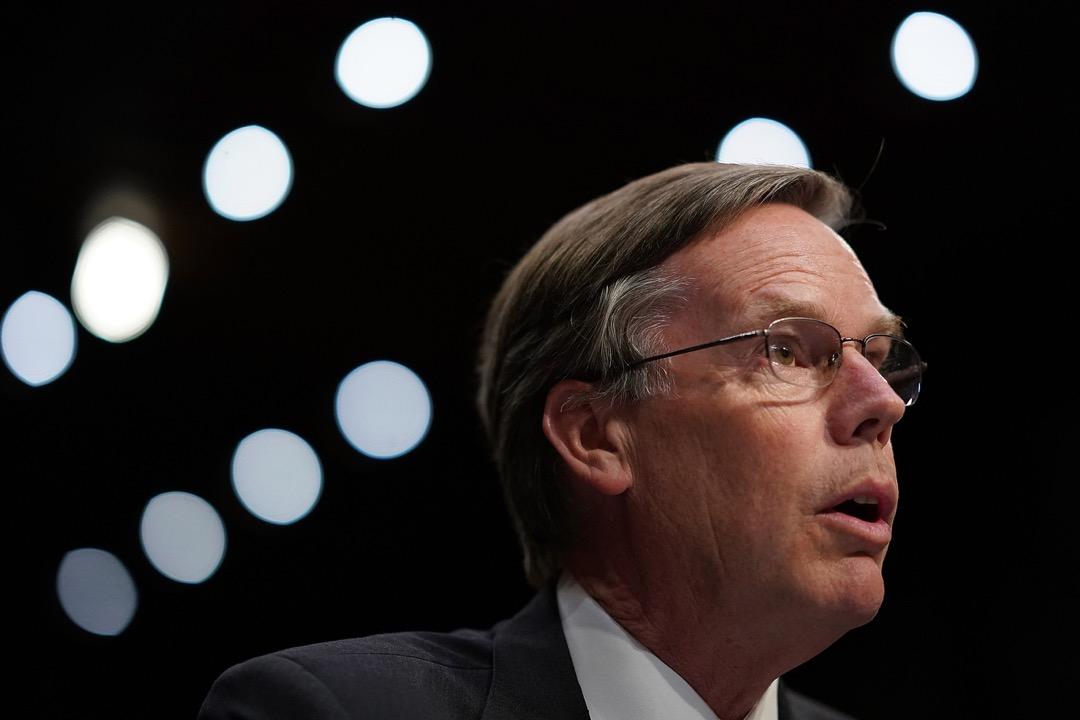 外界普遍預計華盛頓將任命曾在民主黨和共和黨政府中任職的資深外交官 R. Nicholas Burns 為駐華大使。 攝:Win McNamee/Getty Images