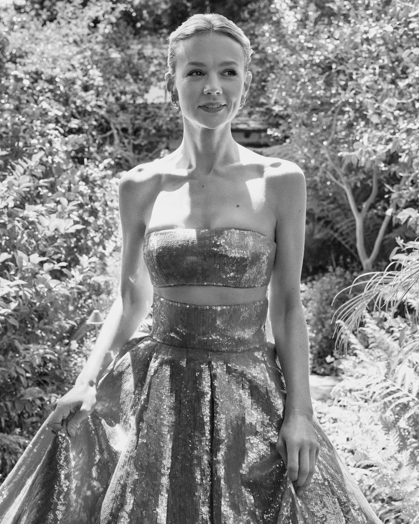 2021年4月25日, 第93屆奧斯卡金像獎頒獎典禮,女演員凱莉‧墨里根(Carey Mulligan)。