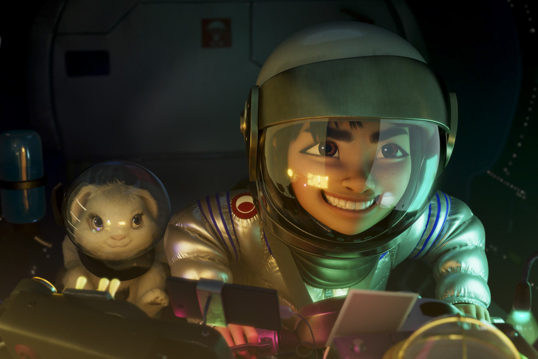 《飛奔去月球》電影劇照。 網上圖片