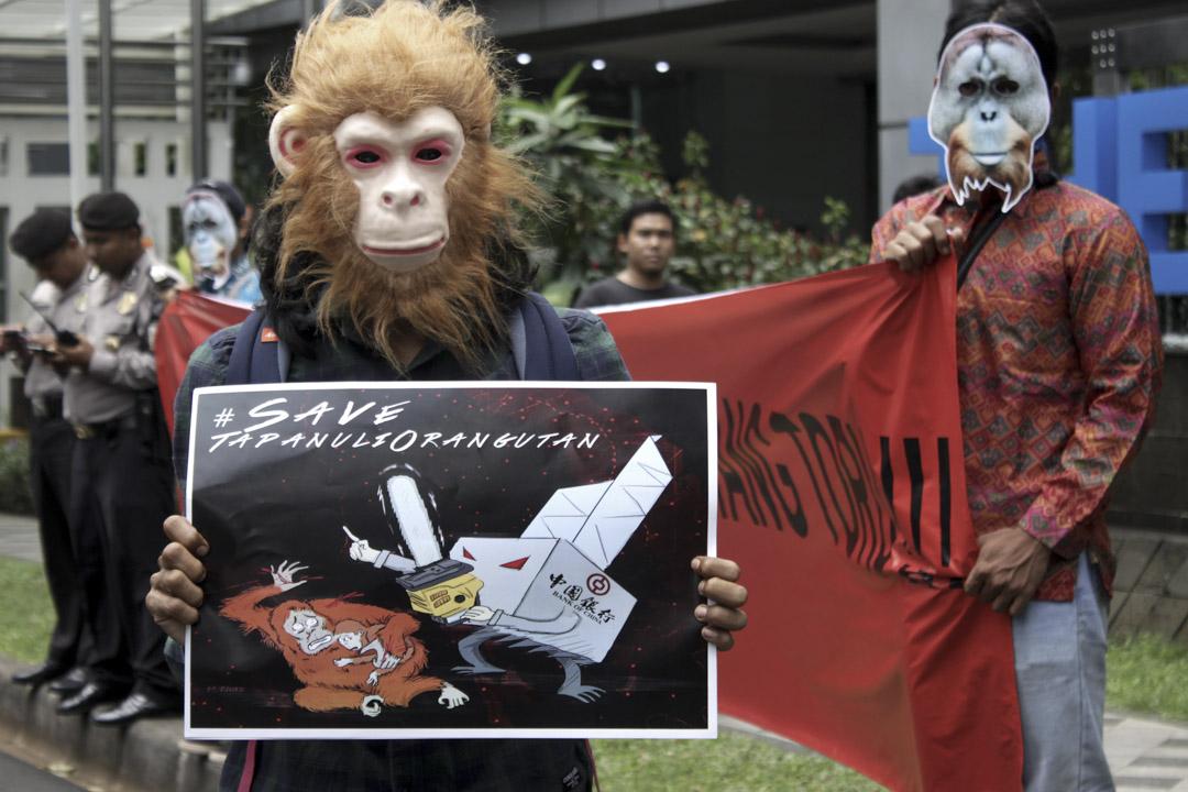 2019年3月1日,環保組織抗議向NEHS提供貸款的中國銀行,表示關注巴丹託魯的打巴奴裏紅毛猩猩會因水電站的建設導致該瀕危物種的滅絕。