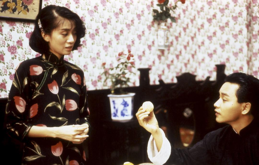 《胭脂扣》(1988)電影劇照。