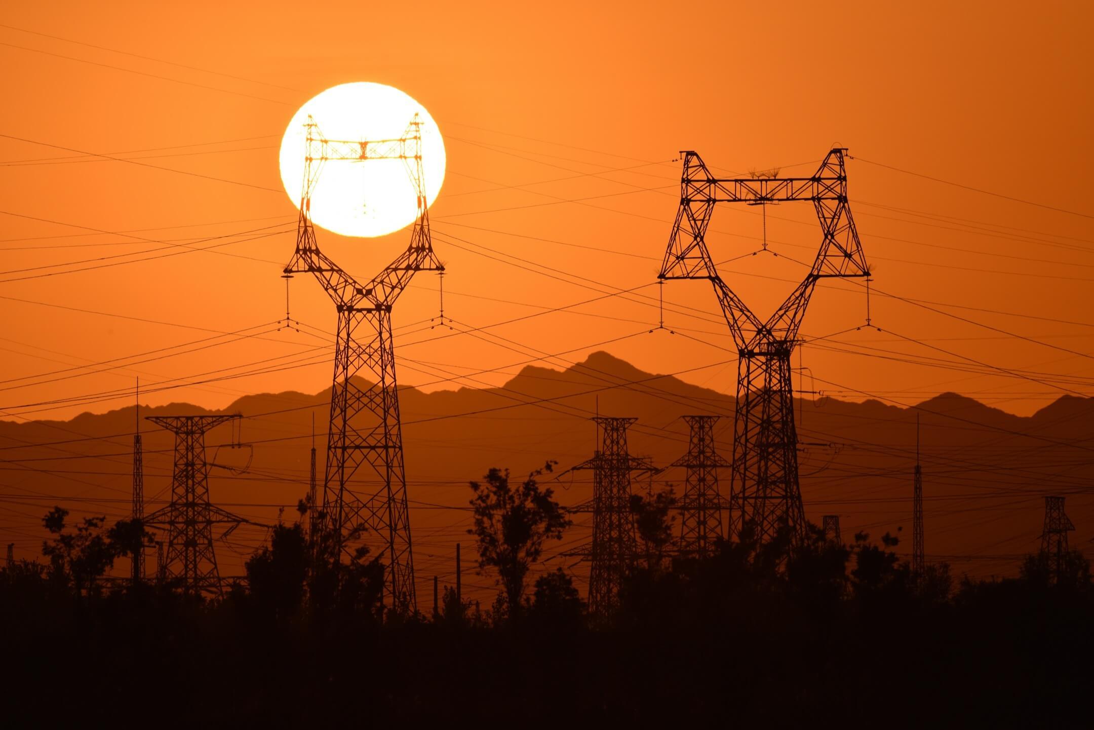 新疆庫爾勒市的一個發電站。 攝:VCG/Getty Images