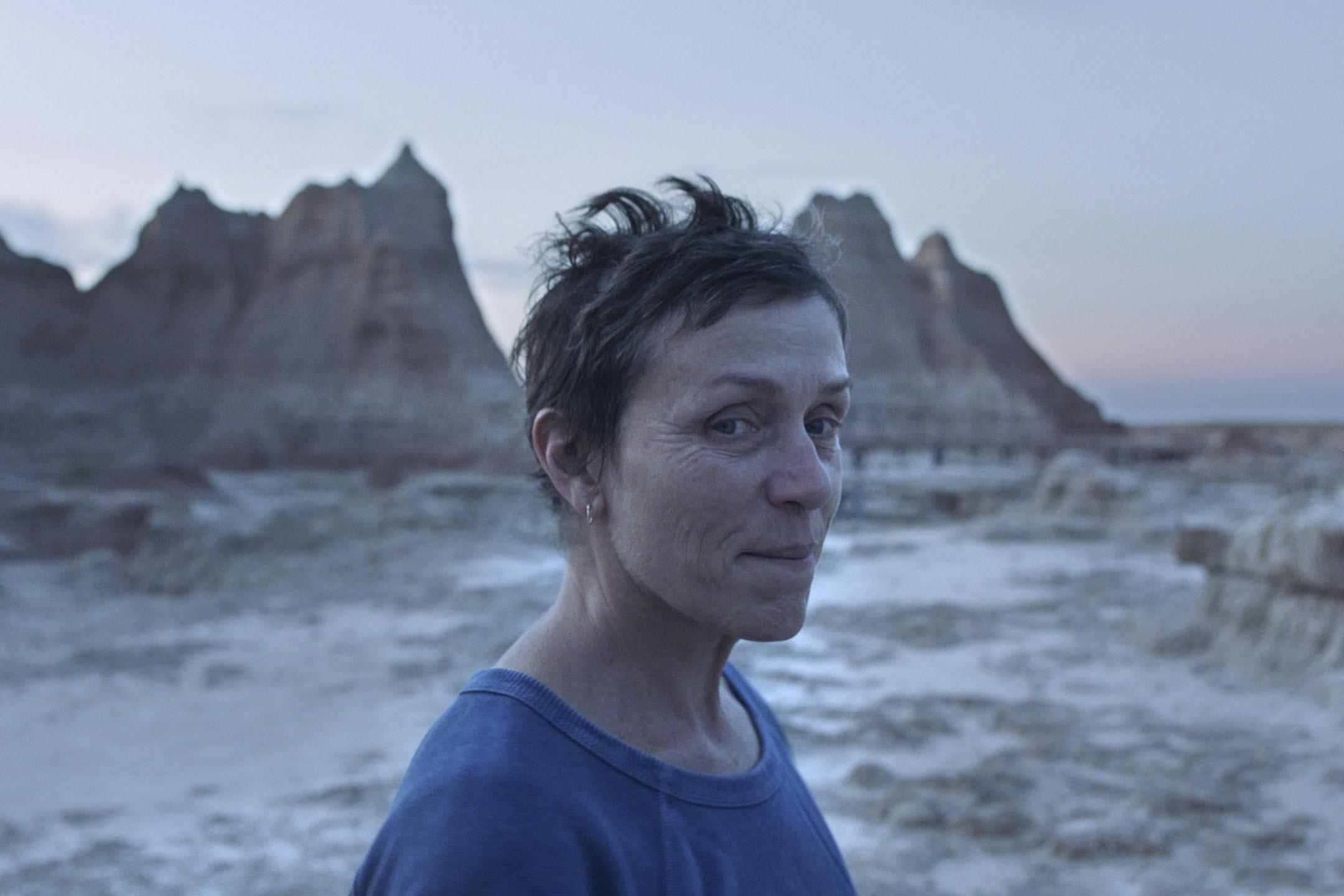 《無依之地》(Nomadland)女主角Frances McDormand。