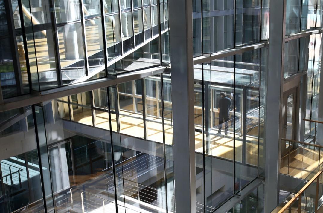 北京的百度辦公大樓。