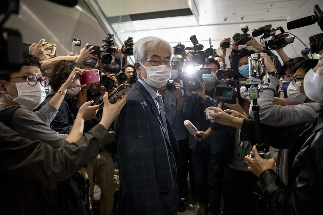 2021年4月16日,法庭對「818集會案」九名被告作出判刑,其中民主黨創黨主席李柱銘被判囚11個月,緩刑24個月。